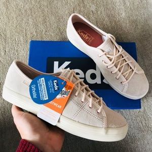 KEDS Suede Lace Up Sneakers